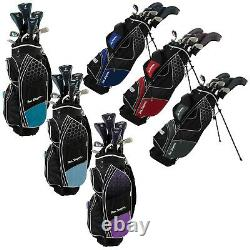2021 Ben Sayers M8 Golf Package Sets Select Mens Ladies Youth Kid Stand Cart Bag
