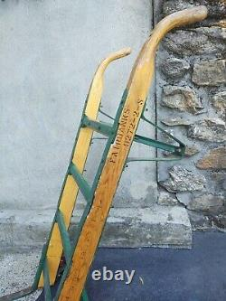 Antique/Vintage Fairbanks Hand Truck Dolly Wood And Iron Excellent Condition