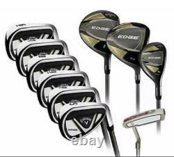 BRAND NEW SEALED Callaway Edge Men's 10-Piece Golf Club Set 10.5 Right Handed