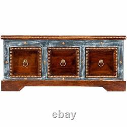 Butler Tenor Wood & Hand Painted Storage Coffee Table