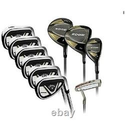 Callaway Edge 10 Piece Golf Club Set Right Handed. Brand new boxed