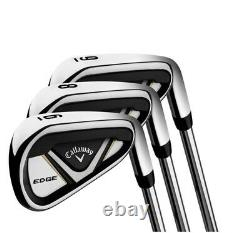 Callaway Edge 10 Piece Mens Graphite Golf Club Set Right Handed Gold Edition NEW