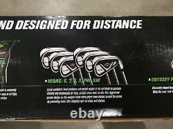 Callaway Edge mens 10 Piece Golf clubs set Right handed Brand New
