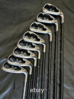 Callaway X18 3-SW Right Handed Iron Set Firm Flex I75. Used Condition