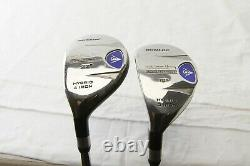 Dunlop DDH Set stainless shaft Irons Mid Firm Graphite Wood Left Hand Golf Clubs