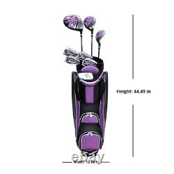 Golf Club Complete Set Ladies 13-Piece Right Handed Lightweight Cart Bag