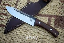 Hand Forged Knife 12 Inch Over All Full Tang Hunting Camping Survival Knife Wwk