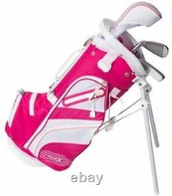 Kid's Right Hand Girl's Toddler Pink Golf Club Set Child Size