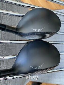 LEFT HANDED I25 Ping Irons Stiff CFS 4-Pw+U PLUS I20 3 And 5 Woods