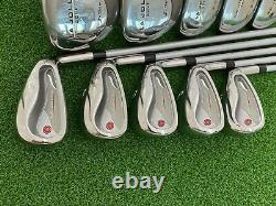 La Jolla Golf Womens Complete Set Fairway Woods Hybrids Irons Right Handed Used