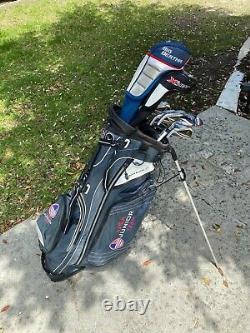 Left Handed Golf Clubs (Complete Set-TaylorMade Irons, Callaway Driver & Woods)