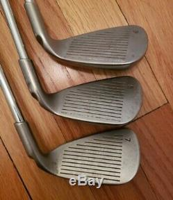Left-Handed Ping Golf Set G5 Iron Set W-3 Iron, + u and l Ping Rapture Woods