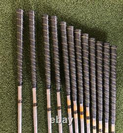 Macgregor Tourney Velocitized 1,2,3,4 Wood 2-9 Irons Right Hand Stiff Steel