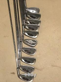 Mens Right Handed Complete Golf Club Set Taylormade Driver Woods ZTour Irons Bag