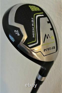 Mens TALL Golf Set Driver, Wood, Hybrid, Irons, Putter Clubs, Bag Right Handed
