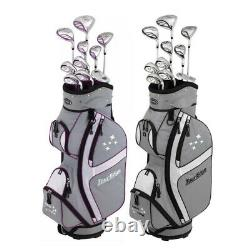 NEW Lady Edge by Tour Edge Complete Golf Set with Driver, Wood, Irons, Bag, Putter