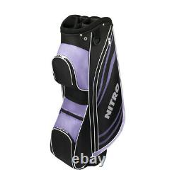 NEW Left Hand Lady Nitro Blaster Pro Complete Golf Set with Driver, Wood, Irons
