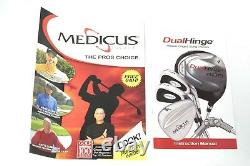 NEW Medicus Dual Hinge Right Hand 460cc 10.5 Degree Practice Golf Driver Club