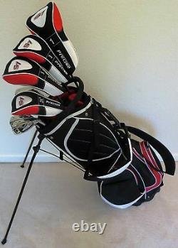 NEW Mens Golf Set Complete Right Handed Driver, Wood, Hybrid, Irons Putter & Bag