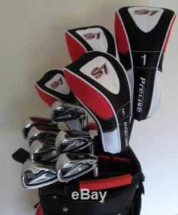 NEW Mens Golf Set Right Handed Driver, Woods, Hybrid, Irons, Putter, Cart Bag