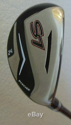 NEW Tall +1 Mens Golf Club Set Driver Wood Hybrid Irons Putter Bag Right Handed