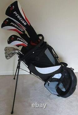 NEW Tall Mens Golf Set Complete Driver Wood Hybrid Irons Putter Bag Right Handed