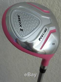 NEW Womens Complete Golf Set Driver Wood Hybrid Irons Putter Cart Bag Right Hand