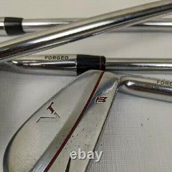 Nike VR Blade Tiger Woods TW Stamped 6-PW Iron Set Dynamic Gold Right Handed