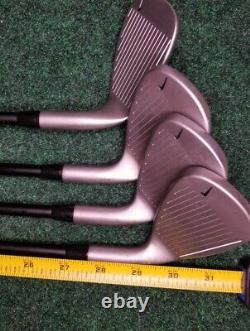 Nike Victory Red Tiger Woods Youth Junior 5 + 7 + 9 + SW Iron Left Handed