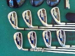 Ping King Cobra Irons Driver Woods Putter Mens Complete Golf Club Set Left Hand