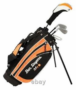 Right-Handed Golf Set with Stand Bag for Golfing. Junior 9-11