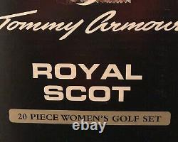 Tommy Armour Royal Scot 20 Piece Women's Golf Set right hand 13 Clubs