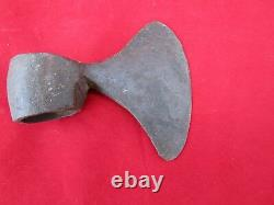 Vintage Old HAND FORGED WROUGHT Iron Axe Hatchet wood cutter Tool Axes Head Z3