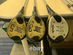 Wilson 1200 Full Set Vintage Golf Clubs Irons & Woods / Right Handed