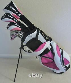 Womens Complete Golf Set Driver Wood Hybrid Irons Putter Bag Ladies Right Handed